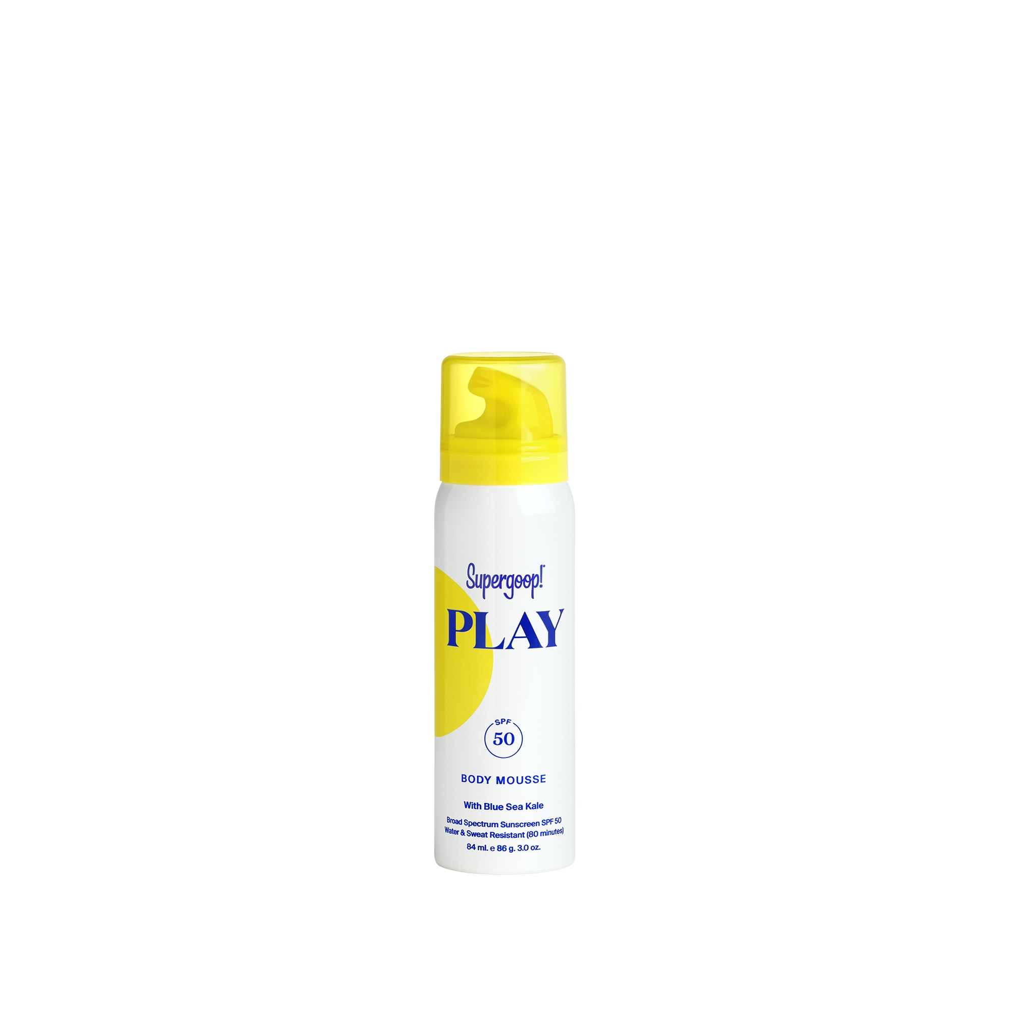 PLAY BODY MOUSSE SPF 50 WITH BLUE SEA KALE