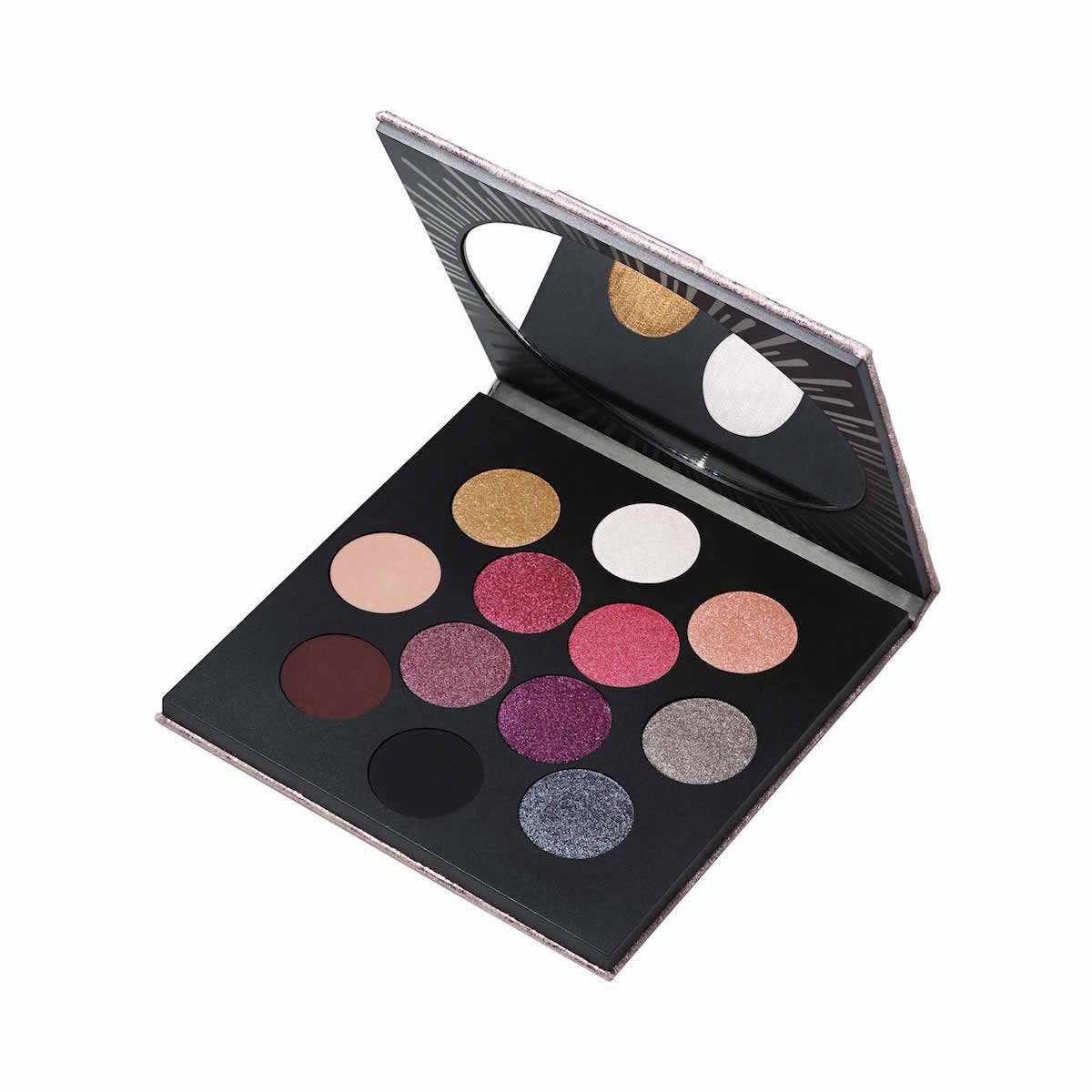 ROCKET TO FAME EYE SHADOW X 12 PALETTE (PALETA DE 12 SOMBRAS DE OJOS)
