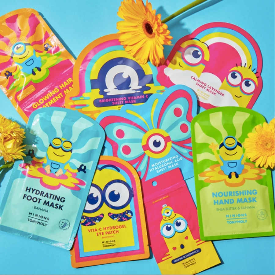 MINIONS CALMING LAVENDER MASK SHEET (MASCARILLA FACIAL)