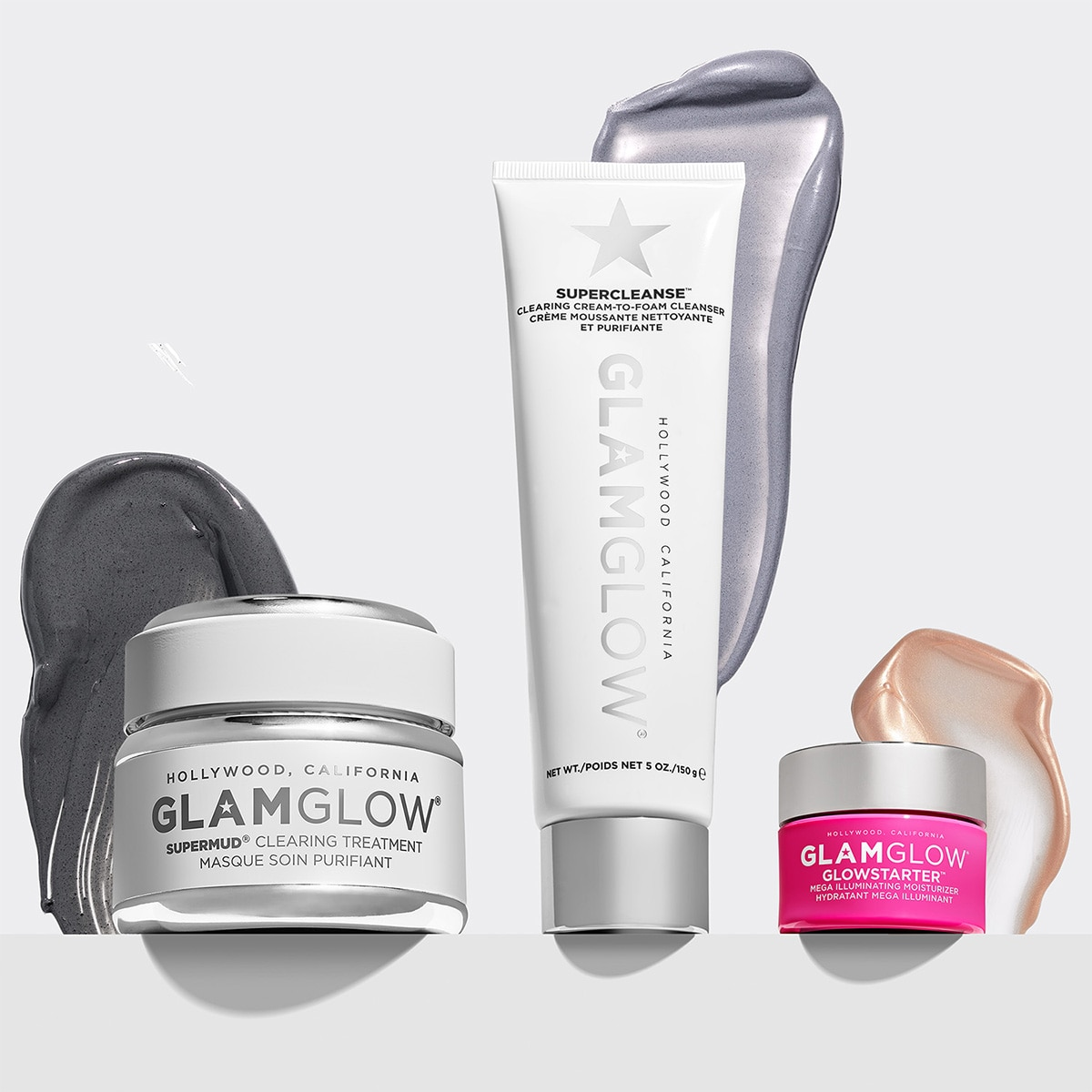 CLEAR SKIN 3, 2, 1 - SUPERMUD SET (TRIO DE MASCARILLAS)