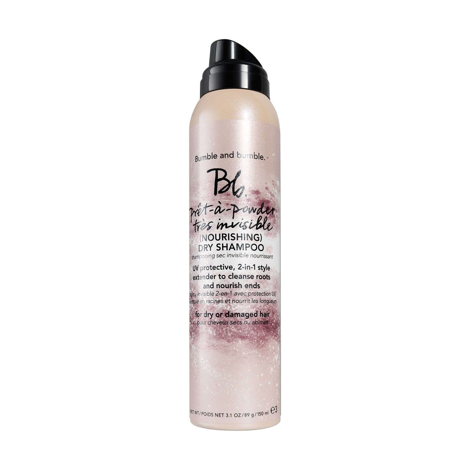 SHAMPOO EN SECO EN SPRAY PRETAPOWDER TRES INVISIBLE NOURISHING 150ML