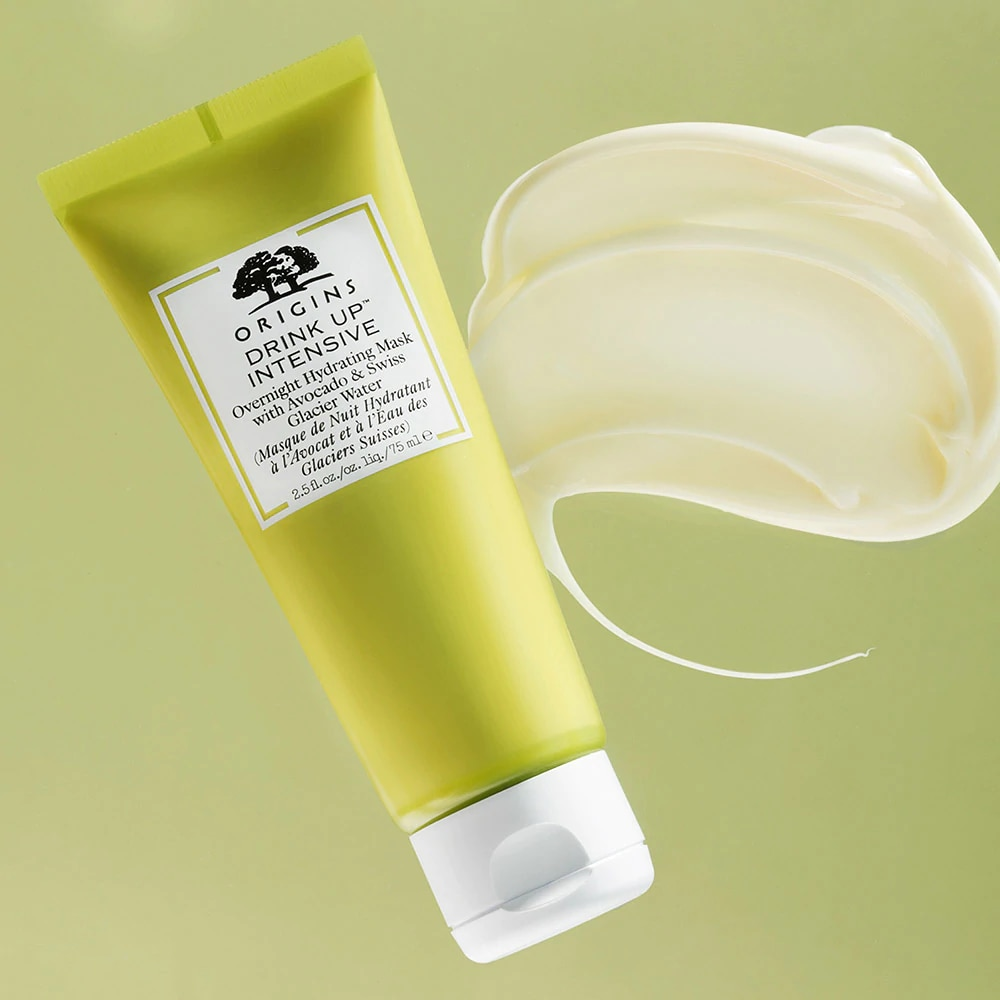 DRINK UP™ INTENSIVE OVERNIGHT HYDRATING MASK WITH AVOCADO & GLACIER WATER 30ML