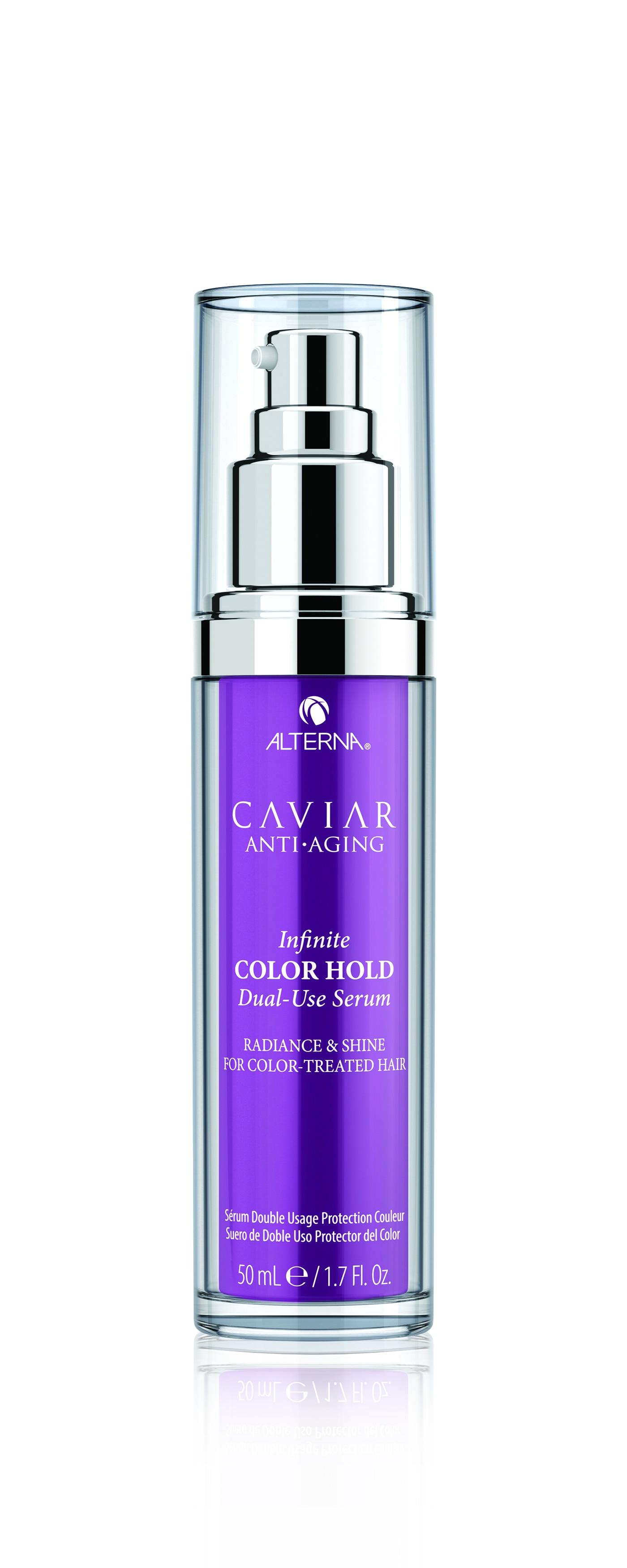 CAVIAR ANTI- AGING INFINITE COLOR HOLD DUAL-USE SERUM (SUERO)