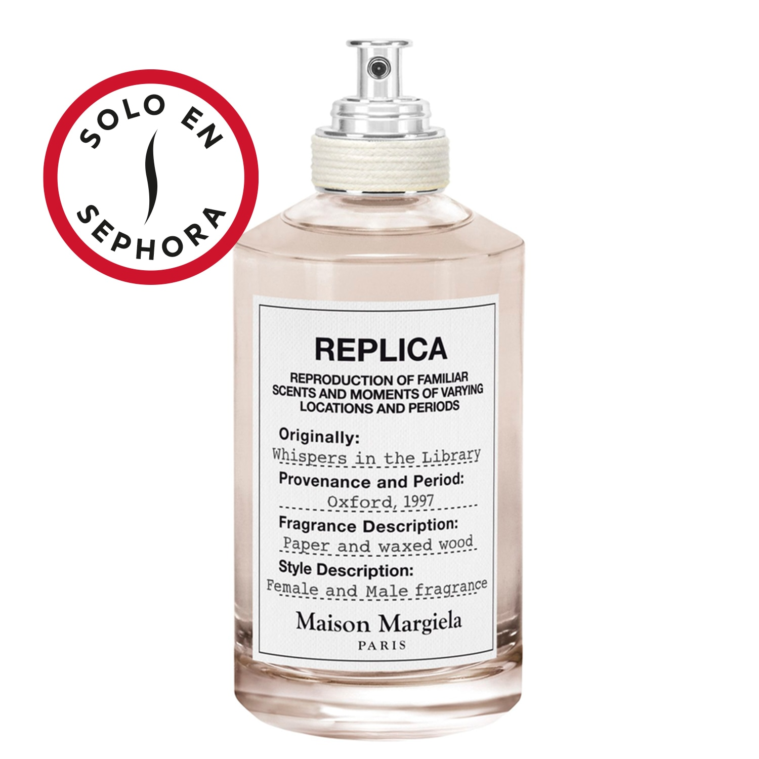REPLICA WHISPERS IN THE LIBRARY EAU DE TOILLETTE 100 ML