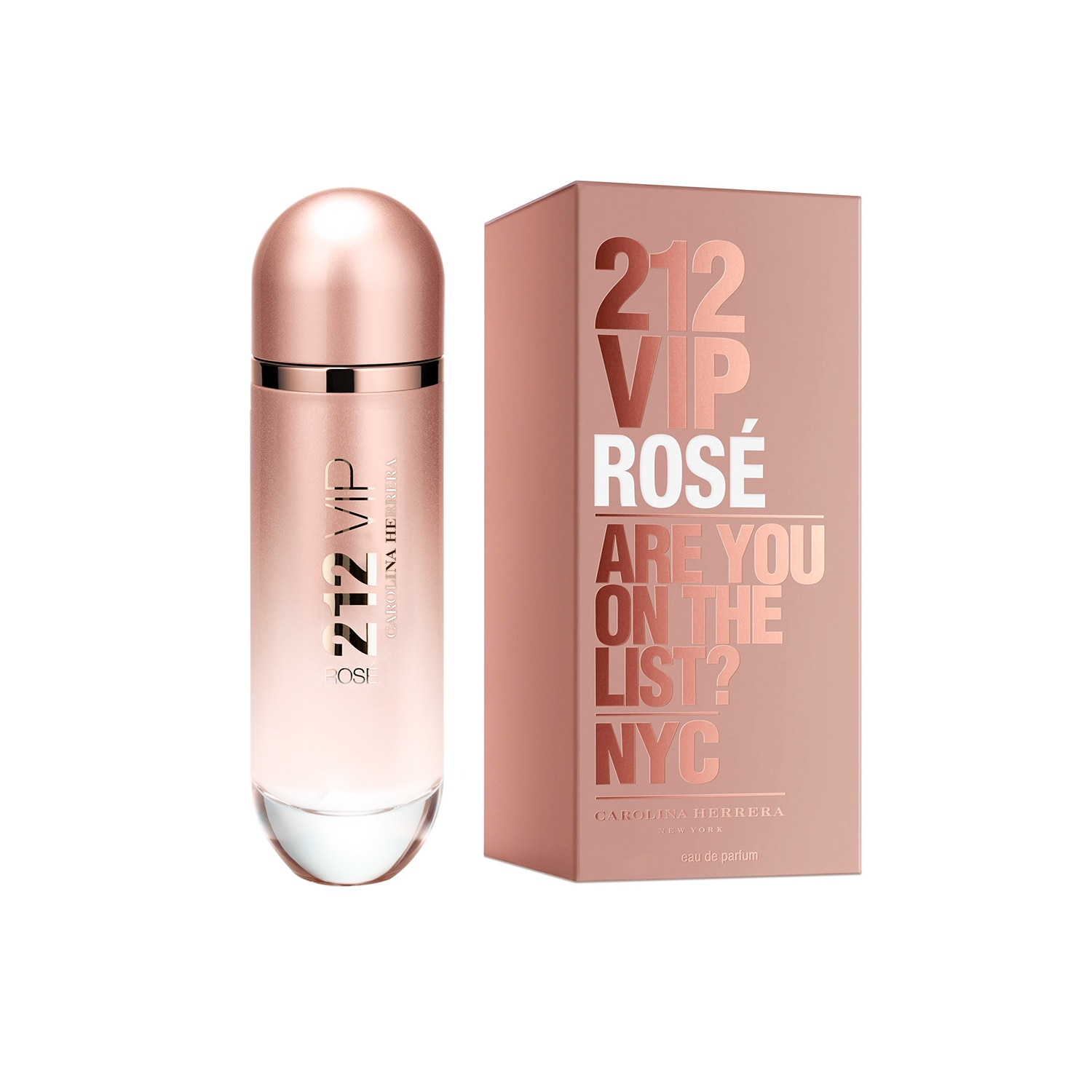 212 VIP ROSE EAU DE TOILETTE 125 ML