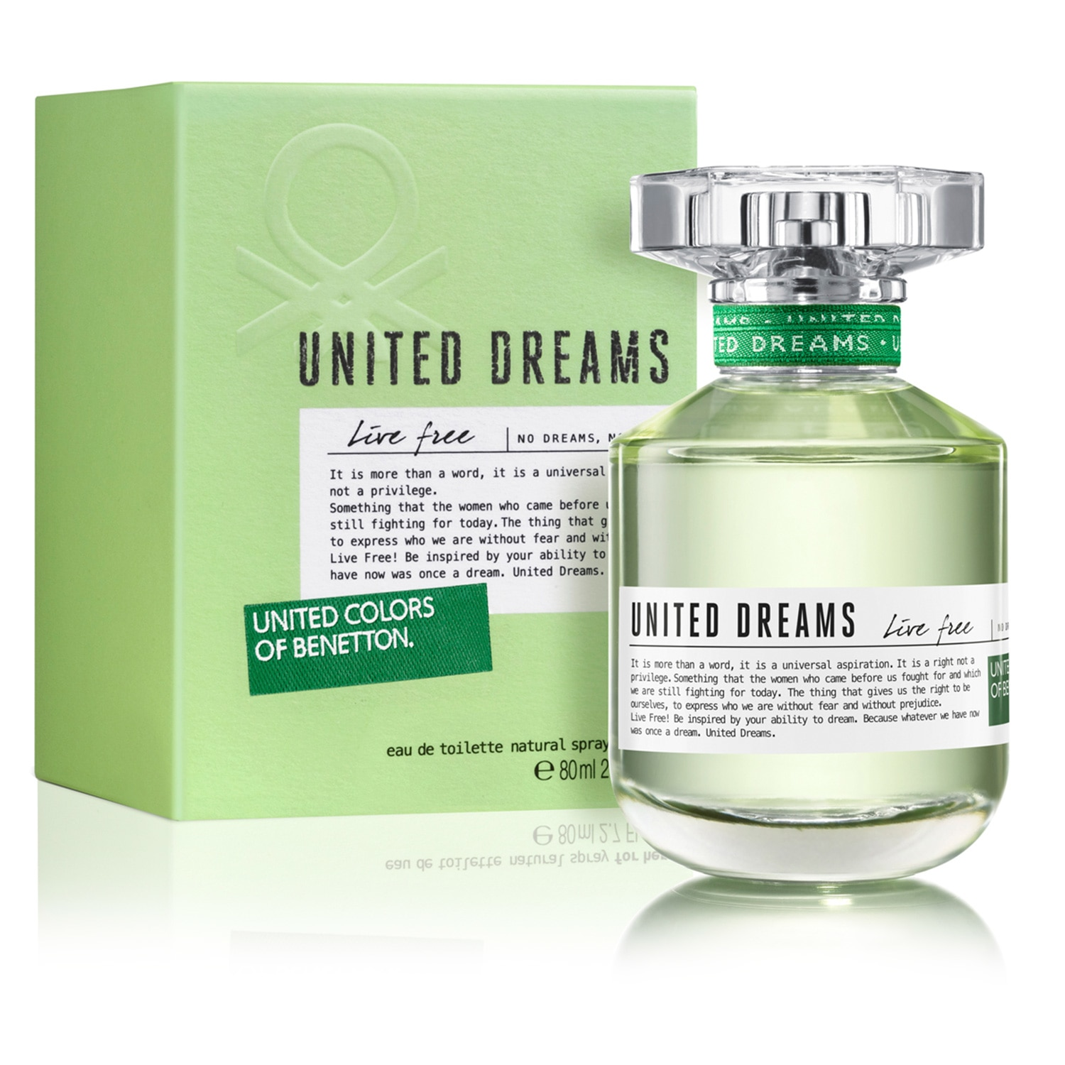 UNITED DREAMS LIVE FREE EDT