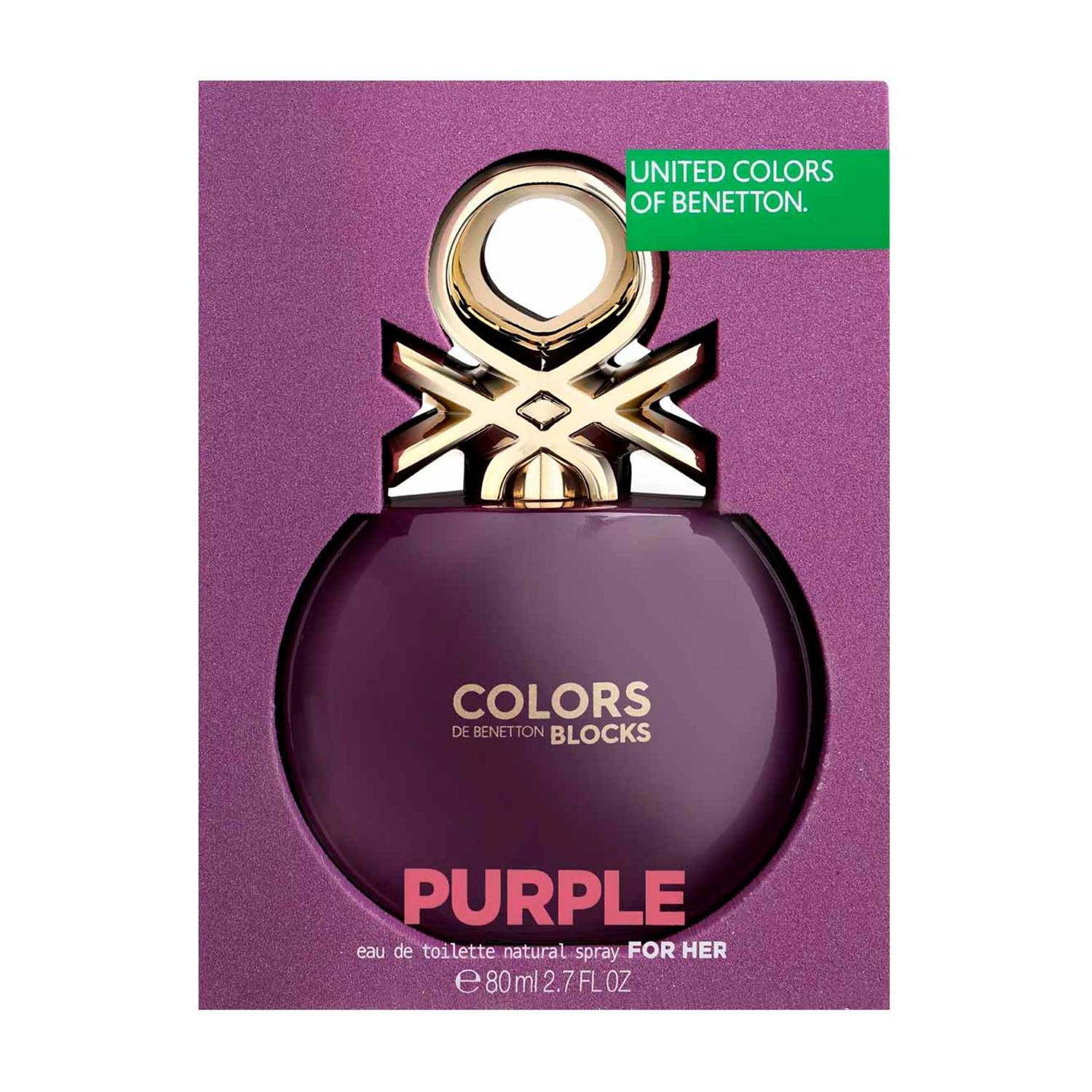 COLORS PURPLE COLLECTOR EDT