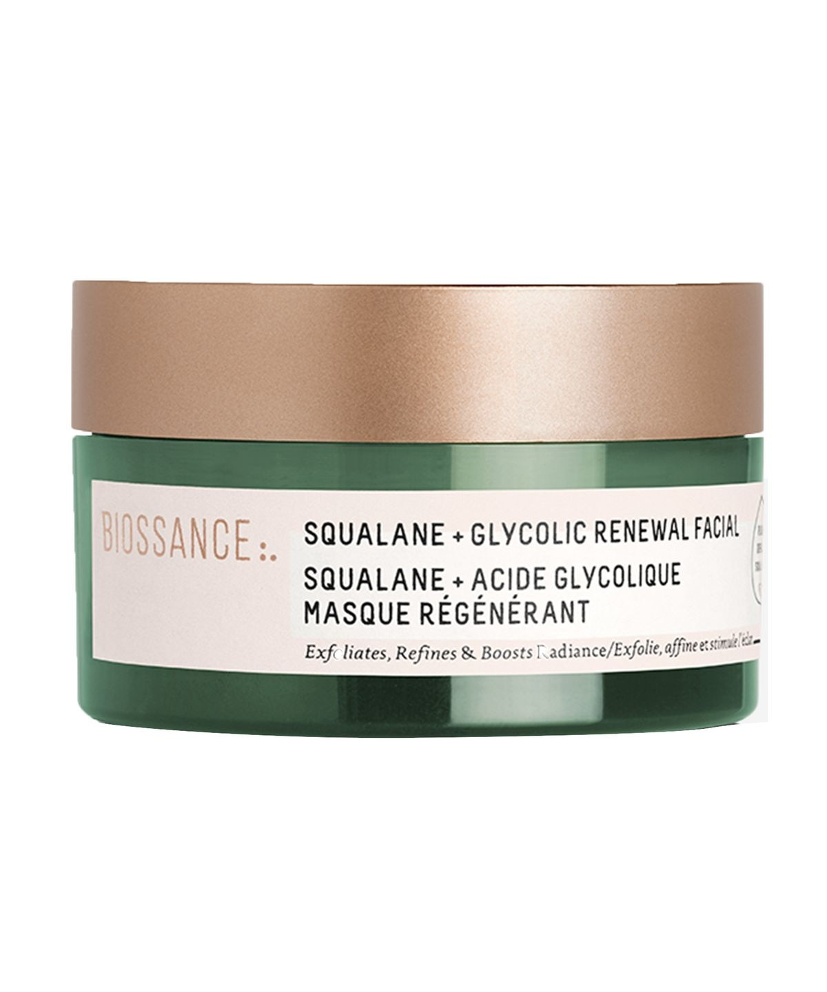 SQUALANE + GLYCOLIC RENEWAL MASK 60ML